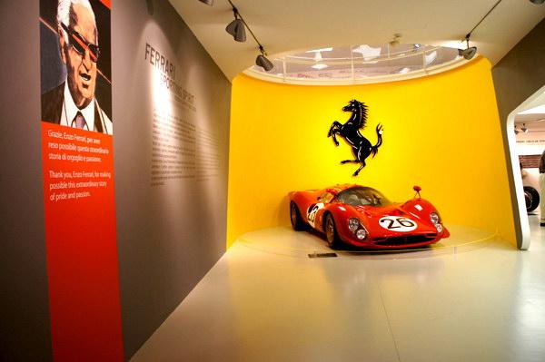 muzeul enzo ferrari modena